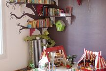 Playrooms / Creating a play paradise for little people can be just as fun for you doing as the end result will be for them! This board is full of quirky ideas to make your child's playroom really stand out from the rest!