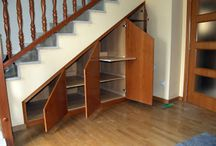 Muebles para escalera