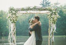 Shayne and Kylie wedding arch