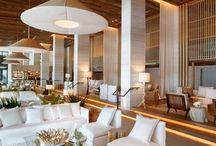 Dreamy creams & bright whites interiors