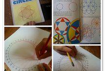 Mathematic - Geometry Circle Art