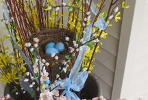 Easter decor / by Beth Pozzini Putz
