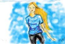 első próbálkozásaim a  digitális rajzzal
