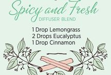 Essential Oils / Oils, diffuser blends