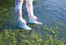 From the welly first sight / Cute welllies, short wellies with a bow, mel, melissa, waterproof, elikshoe