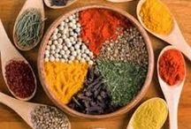 Erbe e Spezie Curative-Healing Herbs and Spices