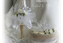 Wedding invitations and decorations