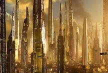 vertical city inspiration
