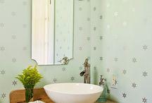 Rustykalne łazienki