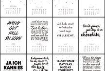 Kalendersprüche