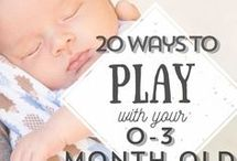 Activities for 0 - 3 months babies