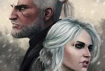 The witcher fan art.