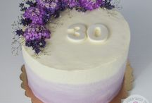 Torty z żywymi kwiatami/ fresh flowers cakes