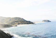 california dreamin. / California beauty and longing.