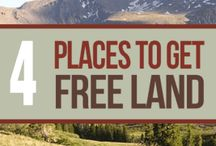 Places to get free land