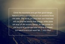 Inspiring quotes / Inspiring quotes on adventure, travel and exploration.