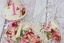 vintage flower cake smash theme inspiration