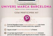 Univers Marca Barcelona / El procés participatiu ha finalitzat. Les fotografies pujades després del 17 de març a les 23.59h no entraran al procés de selecció per formar part del mood board que es podrà veure a l'exposició que inaugurem el proper dia 26 de març a la Sala Ciutat. Contactarem amb els autors de les imatges seleccionades a través del correu electrònic o d'un missatge a Pinterest. Moltes gràcies a tots per participar i compartir amb nosaltres el que us inspira de Barcelona!!