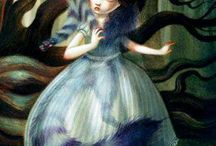 Alice in W:Art/Benjamin Lacombe / Alice in wonderland, (illustrator)