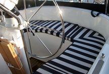 båt interiör