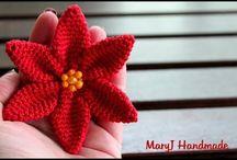 flores y aplicaciones crochet