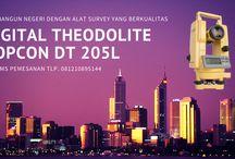 Harga Murah Jual Theodolite Topcon DT 205L | 081210895144