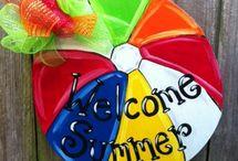 Door Hangers - summer