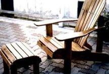Holz - Stühle - Tische - Bänke - Schaukeln / DIY aus Holz