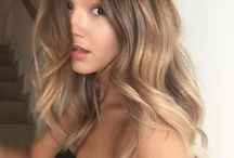 Balayage and color melts