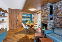 Interiér horský apartmán