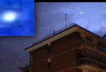 Ufologia: Italia , Molise ,Ufo avvistato durante un forte temporale a Venafro. Video .