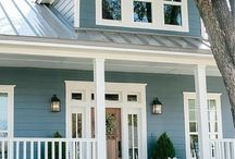 Exteriors / Freshen up your house and add curb appeal with new paint.