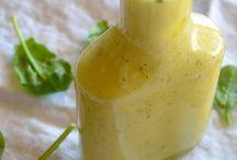Lemon & basil salad dressing