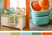 Colour scheme barn loung