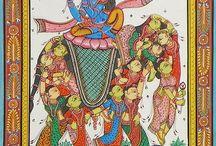Paintings - Indian Orissa Pata