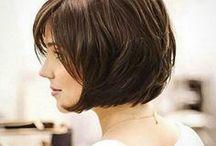 Cores de cabelo castanho