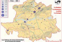Provincia de Cáceres / Estas son las localidades de la provincia de Cáceres que tenemos representadas hasta el momento en nuestro perfil de Pinterest