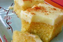 πίτες και γλυκά /pies and cakes