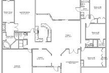 Floor plans / by Elizabeth Vanderpool