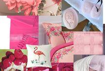 """Planche Tendance """"Vie en rose"""" / Féminine, amoureuse, romantique ou pétillante : #Boucharaparis voit la vie en rose!"""