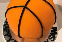 3D Basket Ball Cake #2