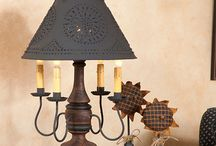 Primitive Lamps / American Made Quality Lamps by Irvin's Country Tinware