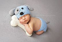 Baby crocheted clothes