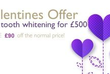 Love is in the air - Valentine's offer / 2 tooth whitening for £500 - Save £90 off our normal price