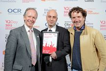 VQ Awards Ceremony 2015 / Awarded the VQ (North West) of the year.The Mermaid Conference And Events Centre,London 2015.