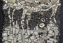 mozaic ,sticla ,ceramica