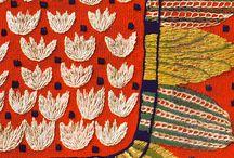 collage textiles