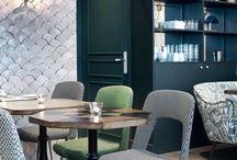 Décoration - les restaurants / Idées inspirations d'architecture d'intérieur de restaurants