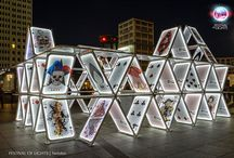 House of Cards @ Festival of Lights 2015 / OGE Creativ Group  Fotos by Frank Herrmann, Nelofee