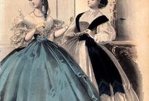 Suknie 1860-1869